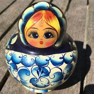 Vintage Russian Nesting Dolls x 10